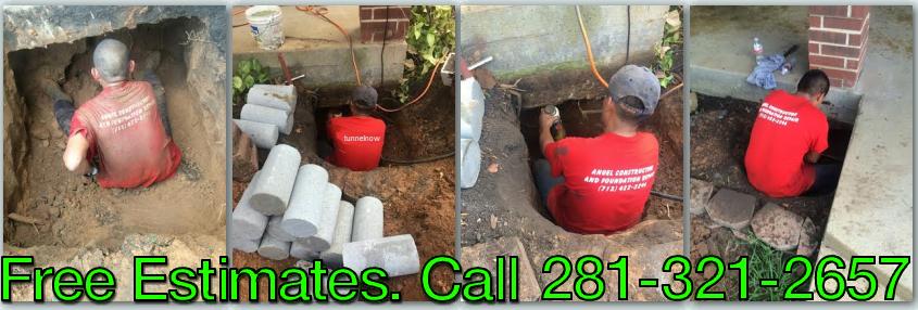 under slab tunneling foundation repair